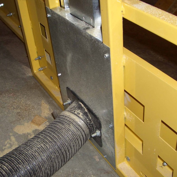 Frame Dust Collection