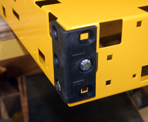 corner with two bolts 500 side - yel-Low Safety Dolly
