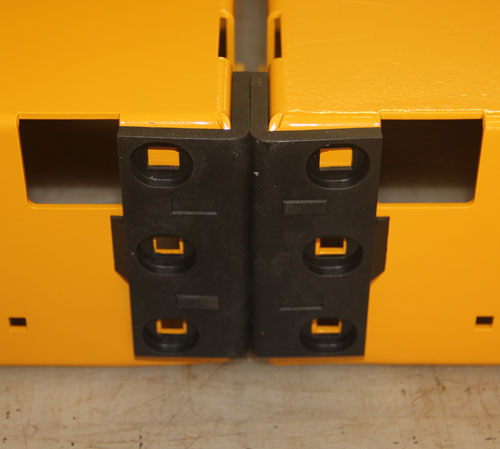 double connecting 500 - yel-Low Safety Dolly