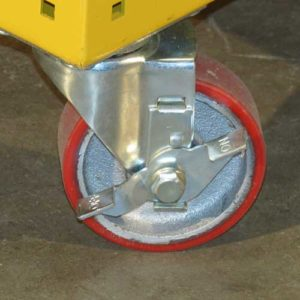 locking casster 300x300 - yel-Low Safety Dolly
