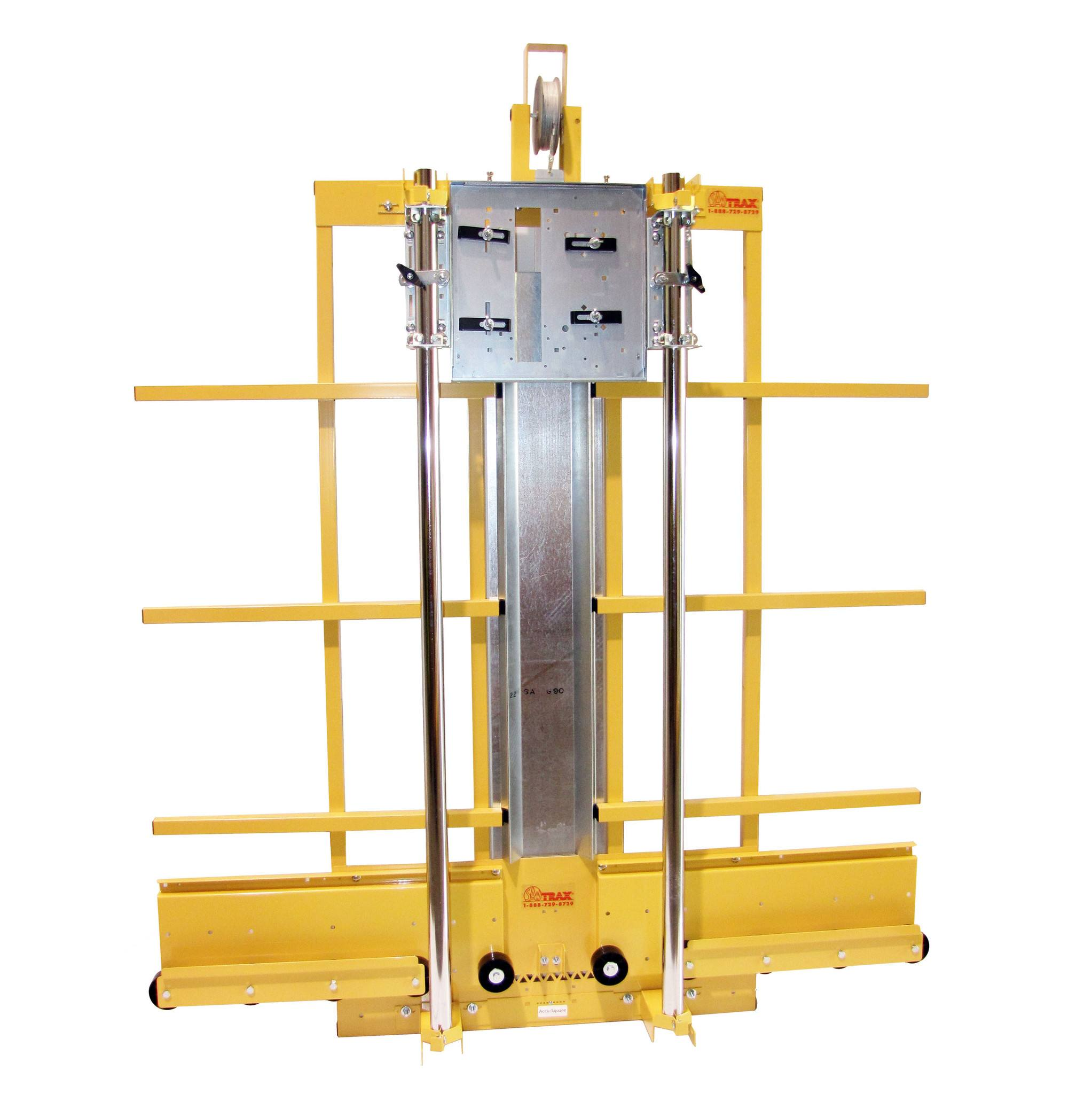 Yellow Vertical Panel Saw by SawTrax
