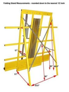 panel saw accessories saw trax folding stand 1 large 225x300 - Vertical Panel Saw, Features and Benefits