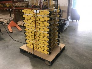"""5 Strapping Begins 300x225 - Journey of a """"Built-to-Order"""" Cart"""