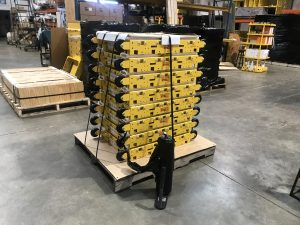 """6 Strapping and Wrapping 300x225 - Journey of a """"Built-to-Order"""" Cart"""