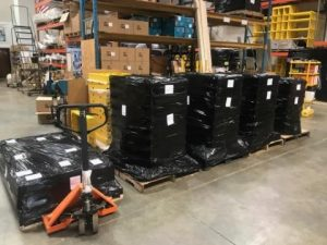 """8 Built Stacked Strapped Wrapped and Ready to Ship 300x225 - Journey of a """"Built-to-Order"""" Cart"""