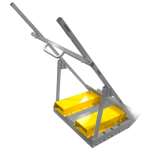 Scoop Dolly Forklift Channels