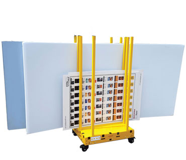 Rack & Roll 370 by 320 - Saw Trax Industrial Carts and Dollies Menu Page