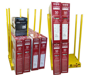 Safety Dolly 370 by 320 - Saw Trax Industrial Carts and Dollies Menu Page