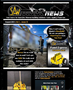 Preview of August 2021 Newsletter featuring GlassBuild and New Product Release