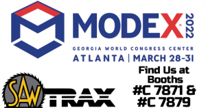 Saw Trax Booths for Modex Show 2022